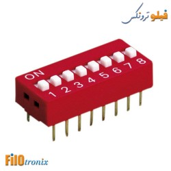 DIP switch 8 pins