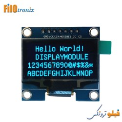 White Blue 128X64 OLED LCD