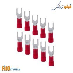 Fork terminal 4mm (10 pcs)