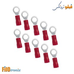 Ring terminal 4mm (10 pcs)