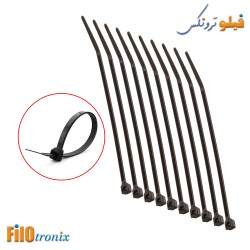 10 Cable Ties 100mmx2.5